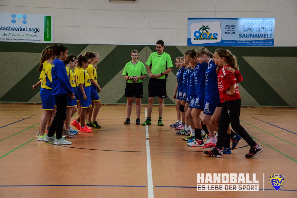 Laager SV 03, Handball, wJD