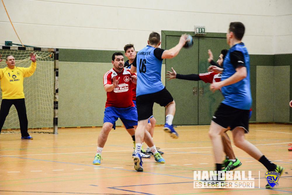 Laager SV 03 Handball - SV Warnemünde V