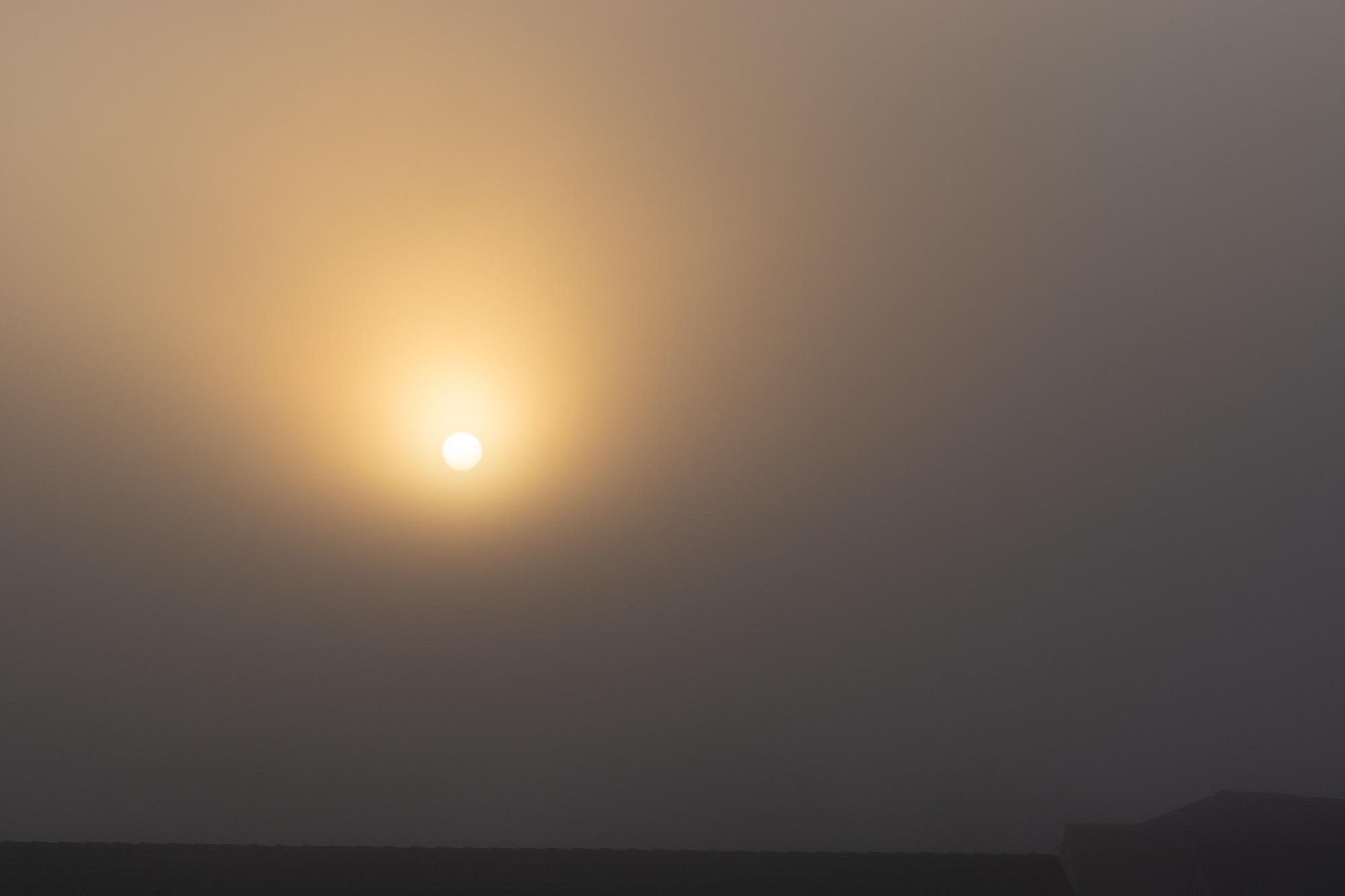 Sonnenaufgang Laage